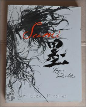 "Cover des Schutzumschlags des ""Sumi"" Artbooks"