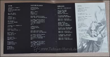 Ein Auszug aus dem Booklet
