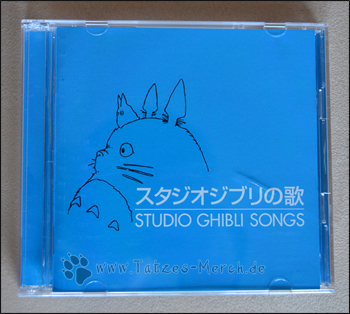 "Cover der ""Studio Ghibli no Uta"" CD"