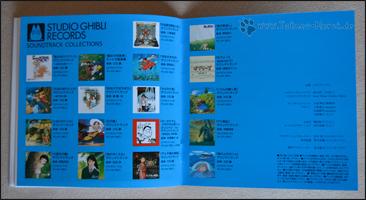 Übersicht über alle Ghibli-OSTs
