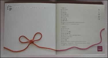 Trackliste im Booklet