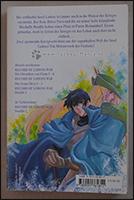 Die Rückeite des Manga