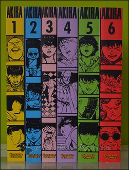 """Akira"" Band 1 bis 6 - komplett"