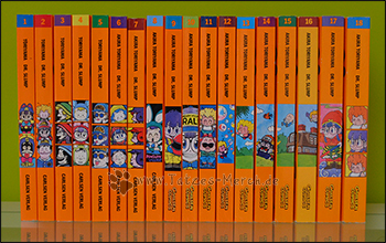 """Dr. Slump"" Band 1 bis 18 (komplett)"