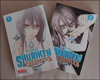 """""""Shuriken & Faltenrock"""" - Band 1 & 2 (komplett)"""