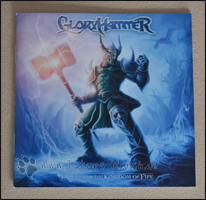 "Cover des Booklets zum GloryHammer Album ""Tales from the Kingdom of Fife"""