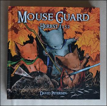 Das Cover von MouseGuard