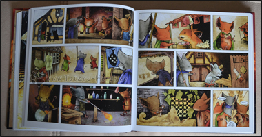 Auszug aus einem späteren Kapitel - die Szenen kommen weitestgehend ohne Gesprochenes aus