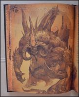 Eine Zeichnung von Diablo, wie er im zwoten Teil der Spiele ausgesehen hat