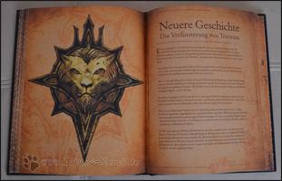 Fast am Ende des Buches angelangt, erreicht man dann die neuere Geschichte, die sich auch mit den älteren Teilen von Diablo deckt