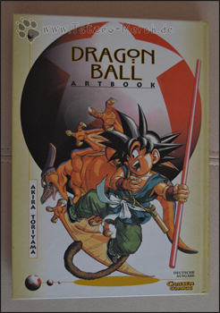 Cover des DragonBall Artbooks