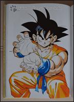 Son-Goku in typischer Pose ;)