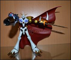 Omegamon mit dem Grey Sword und der Garuru Cannon