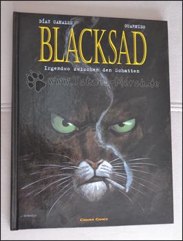 """Cover des ersten """"Blacksad"""" Bandes"""