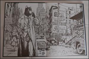 Vorsatz des Comics