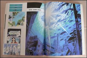 Farbige Seiten des Manga tummeln sich im dritten Kapitel des Artbooks