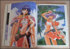 Natürlich darf auch der berühmte Vorreiter des Studio GAINAX in diesem Artbook nicht fehlen: Nadia!