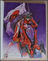 Yoshiyuki Sadamotos Liebe zu Fahrzeugen aller Art kommt in dem Artbook gut zum Ausdruck