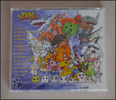 "Trackliste der Digimon Adventure ""Best Hit Parade"" CD"