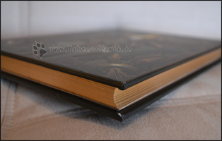 Der Goldschnitt verleiht dem Buch einen edlen Touch
