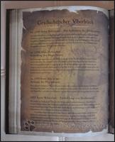 Die Geschichte Sanktuarios aufgeschlüsselt nach Jahreszahlen