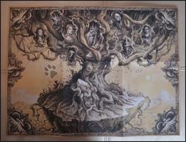 """Der """"Rote Baum von Khanduras"""" - Rückseite"""