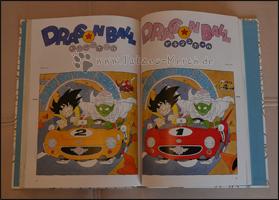 Son-Goku und Piccolo in der Fahrschule - man beachte das Auto im Hintergrund *gg*