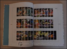 Das Rückenbild aller 42 Bände ergibt ein tolles Motiv