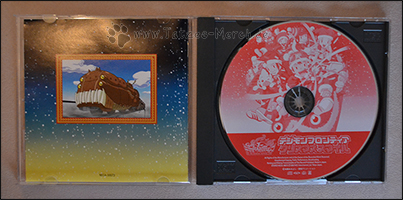 Die CD und das Booklet von hinten
