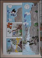 Eine weitere Seite aus dem ersten Kapitel von Dragon Ball