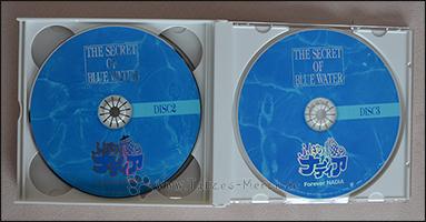 Die zweite und dritte CD der Box