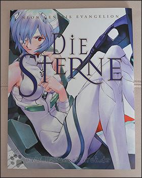 """Das Cover des Evangelion-Artbooks """"Die Sterne"""""""