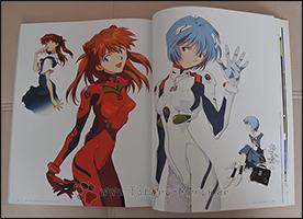 Rei und Asuka bekommen einige Seiten gewidmet =)