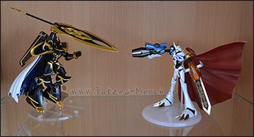 """Als kleines """"Special"""" ein Kampf zwischen Alphamon und Omegamon ;)"""