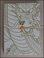 Die Rückseite des dritten Bandes der Daizenshuu ziert Shenlongs Kopf