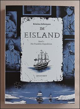 """Cover des ersten Bandes von """"Im Eisland"""""""