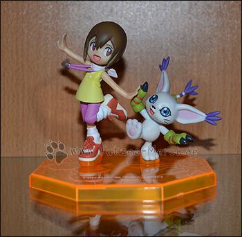 Hikari/Kari & Tailmon/Gatomon (G.E.M./MegaHouse)
