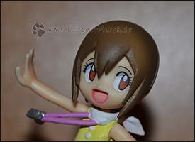 Detailaufnahme von Hikaris Gesicht