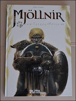 "Das Cover des Comics ""Mjöllnir"""