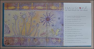 Die Trackliste zu Nausicaä im Booklet