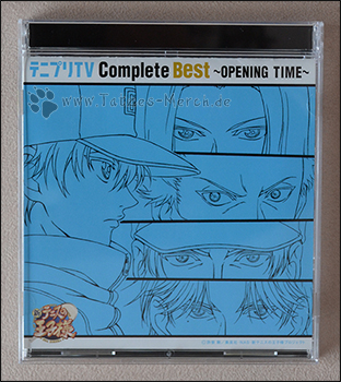 "Cover der Prince of Tennis ""Opening Time"" CD"