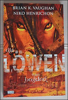 """Das Cover von """"Die Löwen von Bagdad"""""""