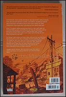 Die Rückseite des Comics