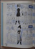 Ein schöner Charakter-Sheet von Bulma und Chichi