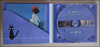 """CD und Booklet im Digipack von """"Kikis kleiner Lieferservice"""""""
