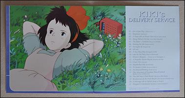 """Die Trackliste im Booklet von """"Kiki's Delivery Service"""""""