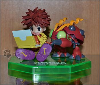 Koshiro/Koushirou/Izzy & Tentomon (G.E.M./MegaHouse)
