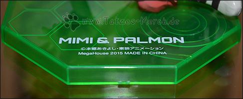 Die Bodenplatte von Mimi und Palmon hat genau die richtige Farbe ;)