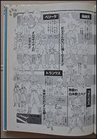 Character-Sheets der Hauptcharaktere