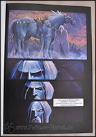Odin resümiert über sein Schicksal ;) Hier kann man sehr schön die Arbeiten mit Aquarell sehen.